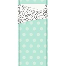 Duni Serviettentaschen Sacchetto® Tissue Mandala Kids 190 x 84 mm 100 Stück