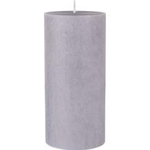 Duni Stumpenkerzen, 100% Stearin, ca. 50h granite grey 150 x 70 mm 1 Stück