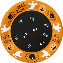 Duni Teller Pappe Halloween Ghost ø 22 cm 10 St.