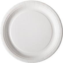 Duni Duni Teller Pappe weiß beschichtet ø 22 cm 20er