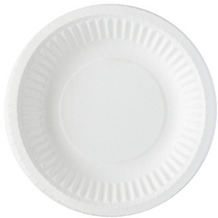 Duni Teller, tief Pappe weiß ø 18 cm /  35 cl 20er