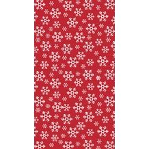 Duni Tischdecke Red Snowflakes 138 x 220 cm