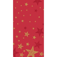 Duni Tischdecke Shining Star Red 138 x 220 cm