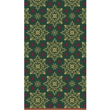 Duni Tischdecke X-Mas Deco Green 138 x 220 cm