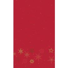 Duni Tischdecken Dunicel® Star Stories Red 138 x 220 cm 1 Stück