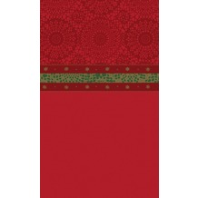 Duni Tischdecken Motiv Festive Charme Red 138 x 220 cm 1 Stück