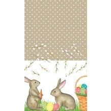 Duni Tischdecken Mr Rabbit 138 x 220 cm