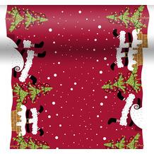 Duni Tischläufer 3 in 1 Dunicel® Mood of Santas 0,4 x 4,80 m 1 Stück