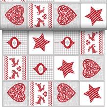 Duni Tischläufer 3 in 1 Motiv Nordic Christmas 0,4 x 4,8 m 1 Stück