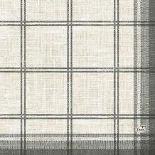 Duni Zelltuch-Serviette, Motiv Linus Classic black 33x33 cm 250 St.