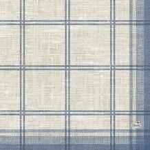 Duni Zelltuch-Serviette, Motiv Linus Classic blue 33x33 cm 250 St.