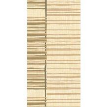 Duni Zelltuch-Servietten Brooklyn Cream 40 x 40 cm 3lagig, 1/ 8 BF 250 Stück