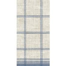 Duni Zelltuch-Servietten Motiv Linus Classic blue 40x40 cm 3lagig, 1/ 8 BF 250 St.