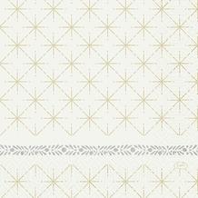 Duni Duni Zelltuchservietten Glitter White 33 x 33 cm 50 Stück