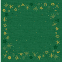 Duni Dunicel-Mitteldecken 84 x 84 cm Star Stories Green