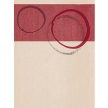 Duni Dunicel-Sets 30 x 40 cm Orbit Bordeaux, 100 Stück