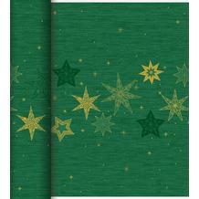 Duni Dunicel-Tischläufer Tête-à-Tête 24 m x 0,4 m (20 Abschnitte) Star Stories Green