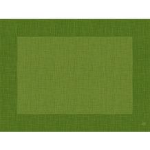 Duni Dunicel-Tischsets Linnea leaf green 30 x 40 cm 100 Stück