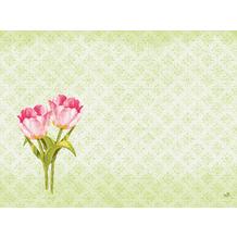 Duni Dunicel-Tischsets Love Tulips 30 x 40 cm 100 Stück