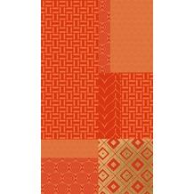 Duni Mitteldecken aus Dunicel 84 x 84 cm Geopatch Mandarin