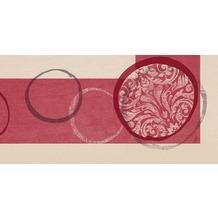 Duni Dunicel Mitteldecken 84 x 84 cm Orbit Bordeaux, 20 Stück