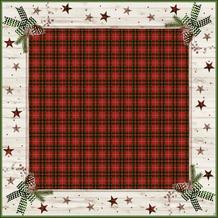 Duni Dunicel® Mitteldecken Naturally Christmas 84x84 cm 20 Stück