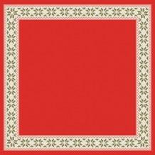 Duni Dunicel® Mitteldecken Urban Yule Red 84x84 cm 20 Stück