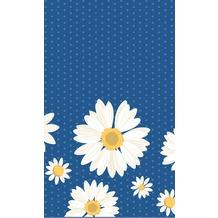 Duni Tischdecken aus Dunicel 120 x 180 cm My Daisy Blue