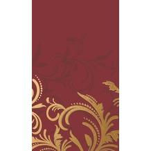 Duni Tischdecken aus Dunicel 138 x 220 cm Grace Bordeaux