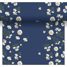 Duni Dunicel® Tischläufer 3 in 1 Pretty Daisy Blue 0,4 x 4,80 m 1 Stück