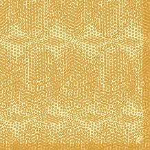 Duni Dunilin-Servietten 1/ 4 Falz 40 x 40 cm Organic Honey, 50 Stück