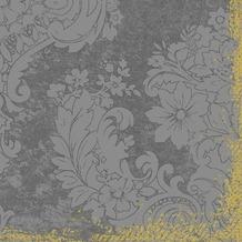 Duni Dunilin-Servietten 1/ 4 Falz 40 x 40 cm Royal Granite, 50 Stück
