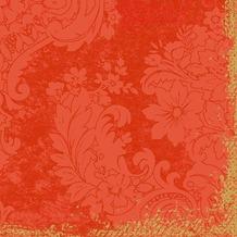 Duni Dunilin-Servietten 1/ 4 Falz 40 x 40 cm Royal Mandarin, 50 Stück