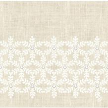 Duni Dunilin-Servietten 40 x 40 cm Linen Snow