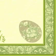Duni Dunilin® Servietten Happiness 40x40 cm 1/ 4 Falz 50 Stück