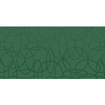 Duni Dunisilk+ Mitteldecken 84 x 84 cm Circuits Dark Green