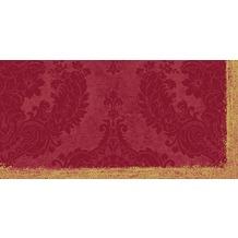 Duni Dunisilk®+ Mitteldecken 84 x 84 cm Royal Bordeaux, 20 Stück