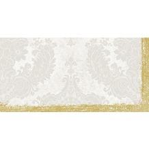 Duni Dunisilk®+ Mitteldecken 84 x 84 cm Royal White, 20 Stück