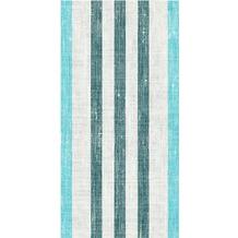 Duni Dunisoft-Servietten Raya blue 20 x 40 cm 1/ 8 Kopffalz 120 Stück