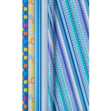 Duni Geschenkpapier Blue Dreams 2 m x 70 cm, 5 Rollen