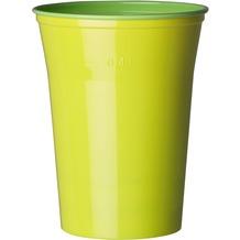 Duni Gläser Plastik Colorix 50 cl   10 Stück grün