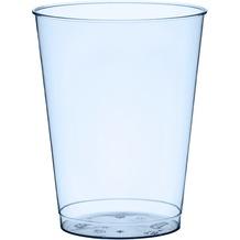 Duni Gläser Plastik Party 25 cl 10 Stück BBQ Blue Line