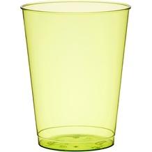 Duni Gläser Plastik Party 25 cl 10 Stück BBQ Green Line