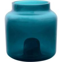 Duni Glas-Kerzenhalter Double, 95x90mm, slate, 4 Stück