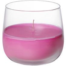 Duni Kerzengläser Glas Ellie ø 6,8 cm, Höhe 7 cm fuchsia