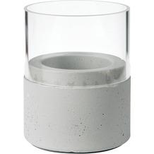 Duni Kerzenhalter Neat grey, Glas 75 x 68 mm 1 Stück