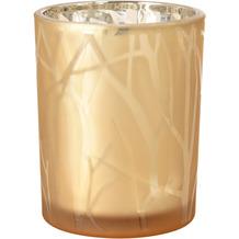 Duni Kerzenhalter Shimmer 100 x 80 mm sand