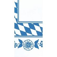 Duni Mitteldecken aus Dunicel Motiv Bayernraute, 84 x 84 cm