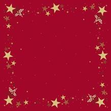 Duni Mitteldecken Motiv Walk of Fame Red 84 x 84 cm 100 Stück