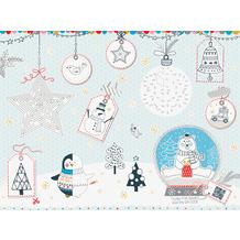 Duni Papier-Tischsets 30 x 40 cm Happy Holiday